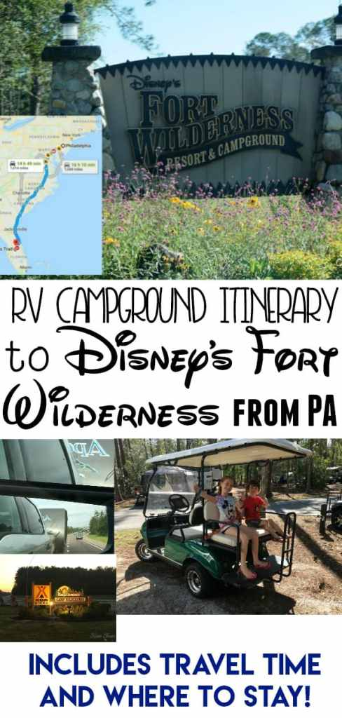 Where to Stay on the Way to Fort Wilderness