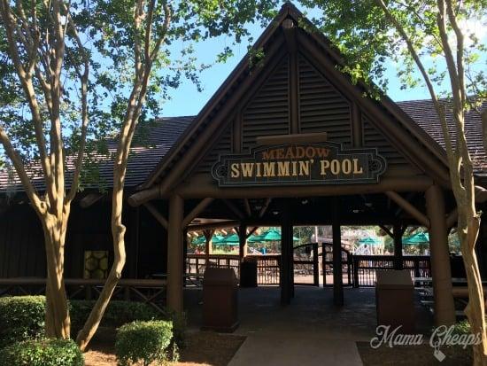 Meadow Swimmin Pool Disney