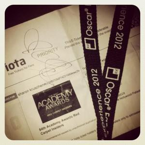 ticket & lanyard