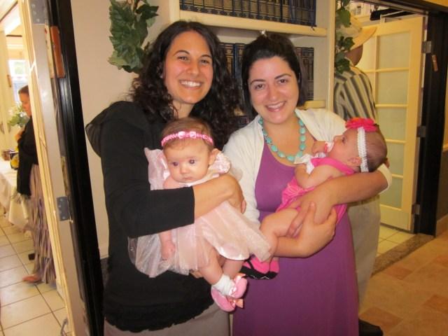 At Tiferet's baby naming