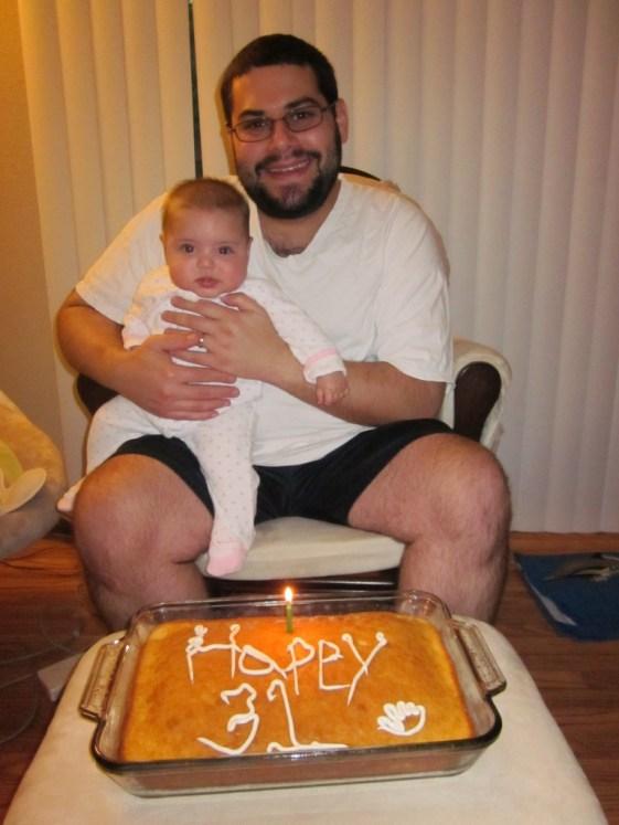 Celebrating daddy's 31st birthday!