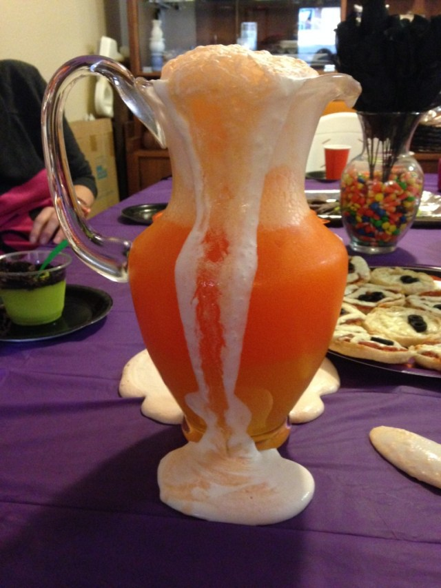 candy corn overflow