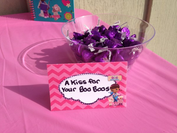Doc McStuffins Party: A Kiss for your Boo Boos