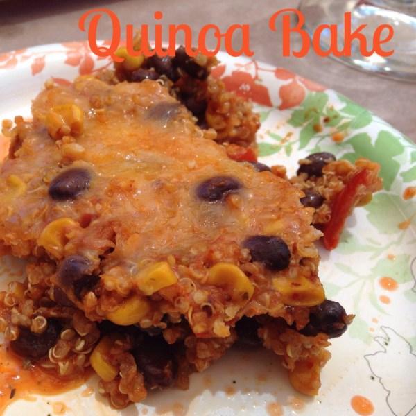 Mama Chit Chat: Quinoa Bake