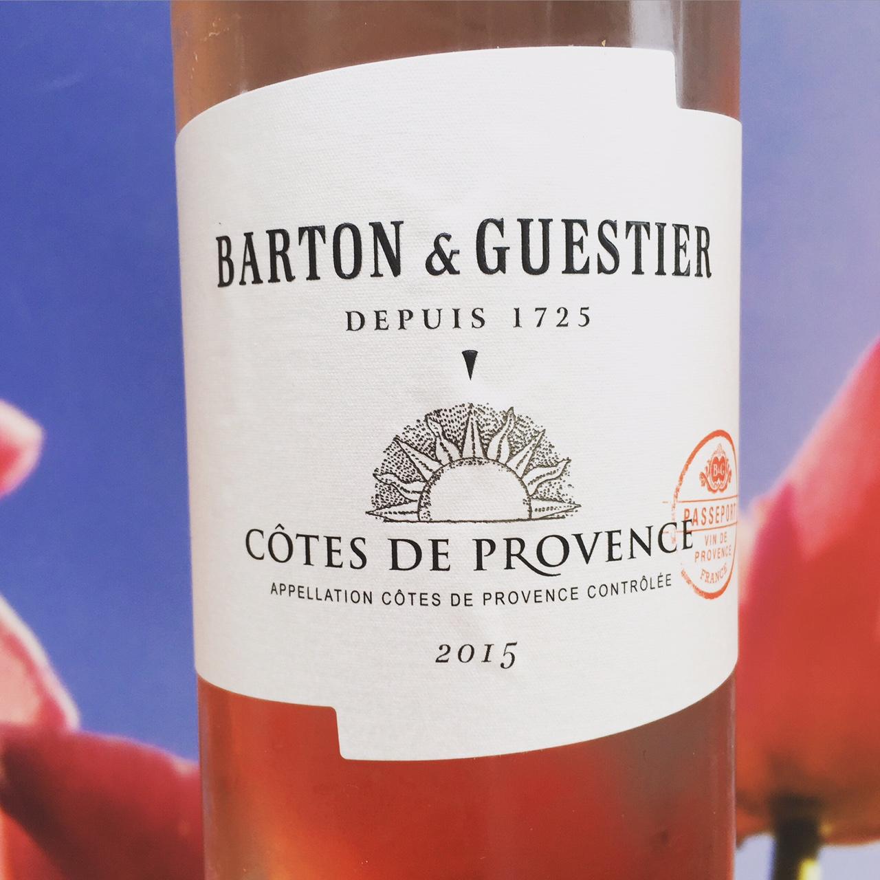 Côte Provence rosé, B & G, Review