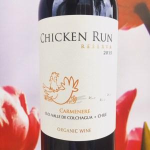 Carmenère Reserva, Chicken Run – Review