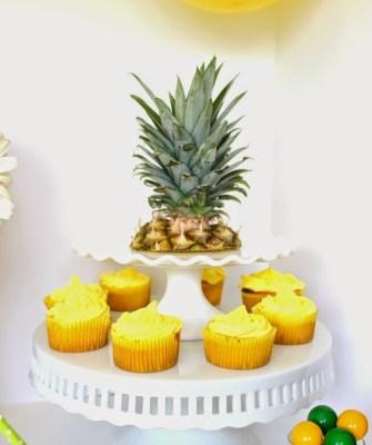 cupcakes de abacaxi