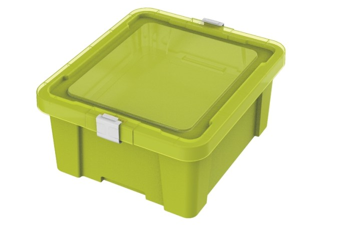 caixa organizadora tramontina verde