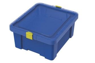 caixa organizadora tramontina azul