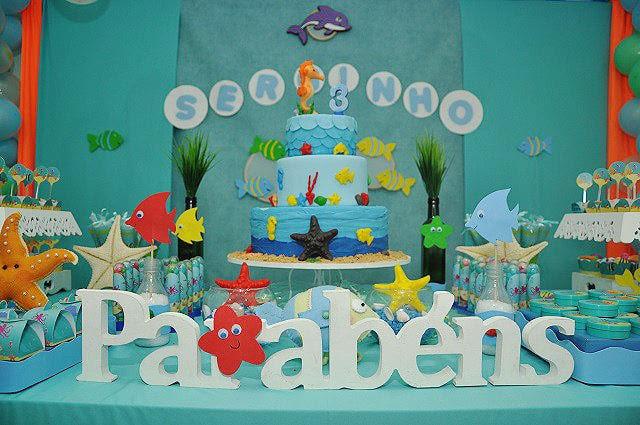 Festa-infantil-Fundo-do-Mar-Lindo-decoração-do-aniversário-do-Serginho-5