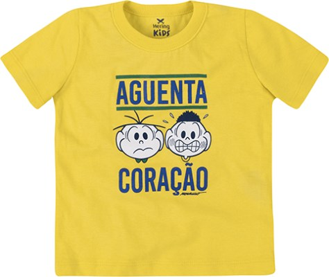 Camiseta Turma da Mônica - Hering Kids