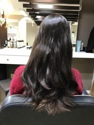 Antes da transformação com a Nezita Hair Studio