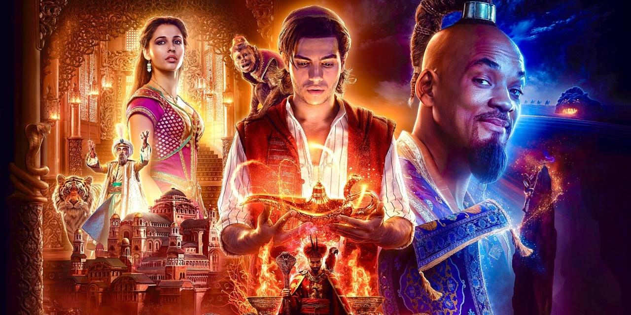 Aladim - Parte Da Capa Do Filme Da Disney 2019