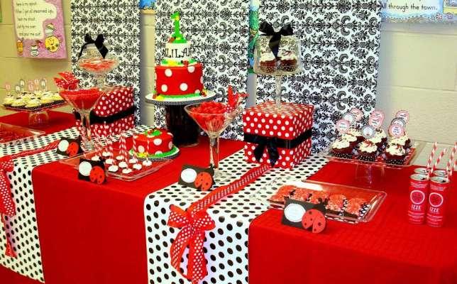 lady bug - festa de aniversário