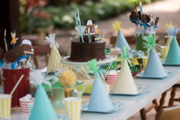 mesa baixa - tendências para festas infantis