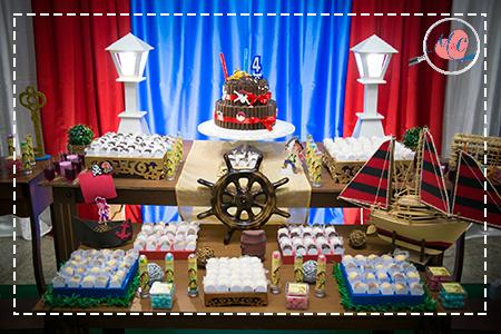 pirata aniversário de menino