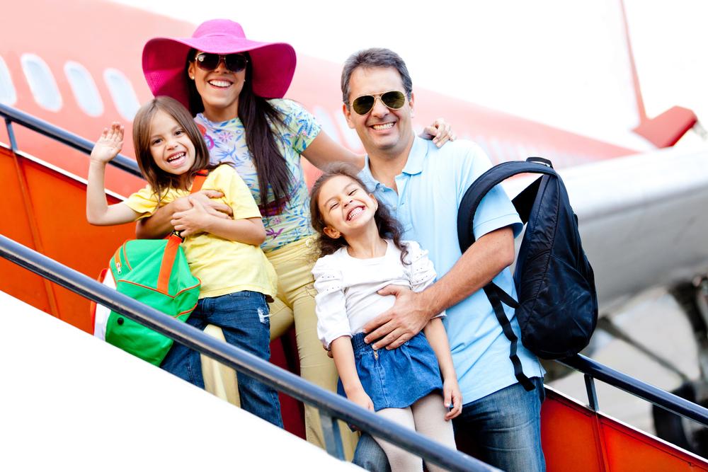 Viajar De Avião Com As Crianças