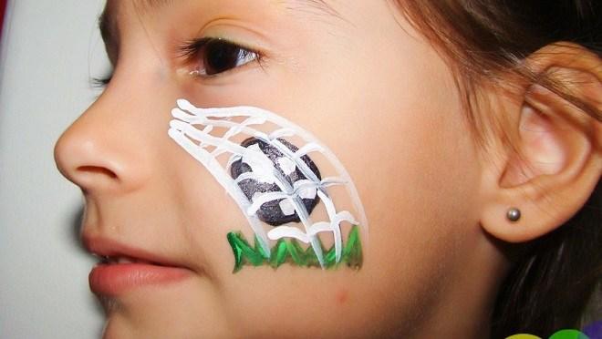 Copa do Mundo: maquiagens para as crianças arrasarem