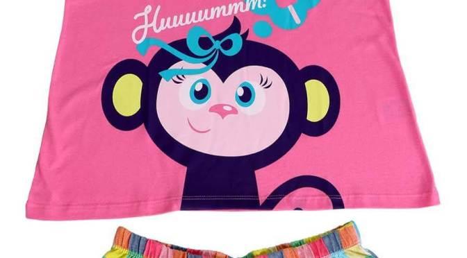 Pijamas criativos e divertidos para meninas