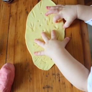 plastilina masa moldear comestible DIY mama extraterrestre