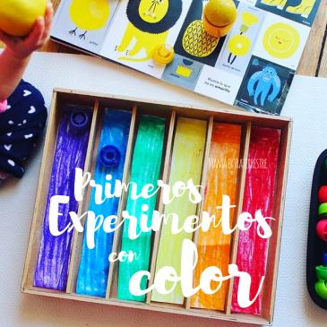 Primeros experimentos con color