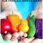 here are some simple ideas for healthy eating for families