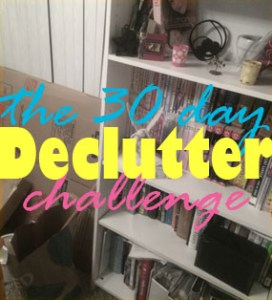 The 30 Day Declutter Challenge