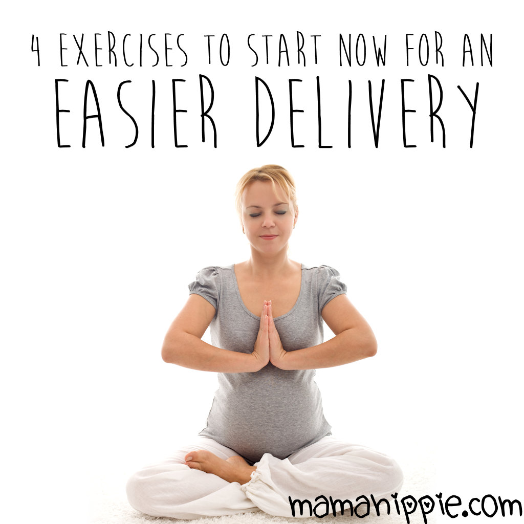 4 Exercises to Start Now for an Easier Delivery