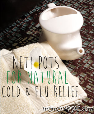 Neti Pots for Cold & Flu Relief