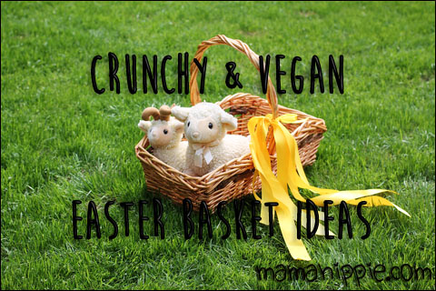 crunchy and vegan easter