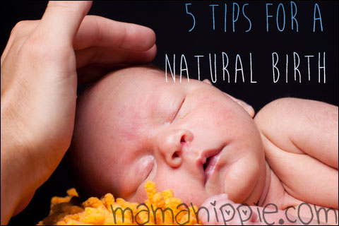 5 Tips for a Natural Birth