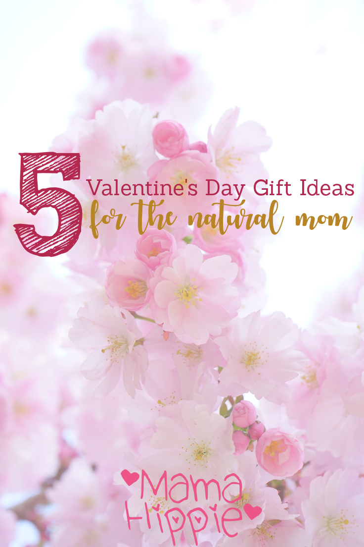 Valentine's Day... the holiday to show those closest to you how much you love and care for them. But if they're a little offbeat, a little crunchy it can be harder to shop for them. Here's 5 gift ideas for the natural mom.