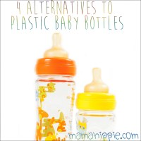 4 Alternatives to Plastic Baby Bottles