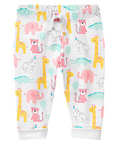 Animal party leggings Daddies are for Hugging Onesis from Gymboree Newborn Collection
