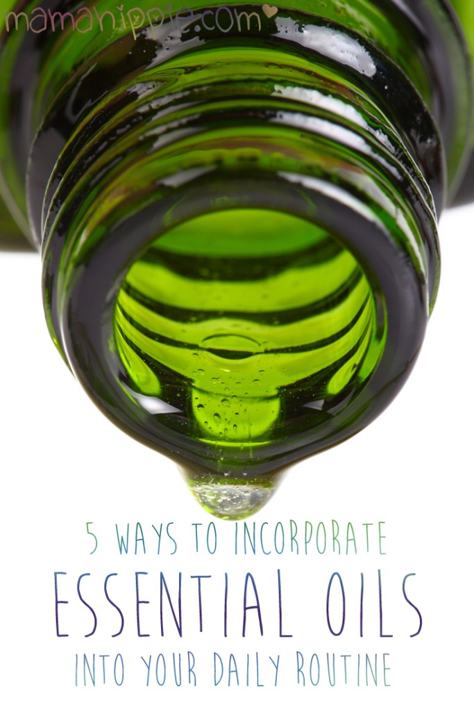 Looking to incorporate essential oils into your day but don't know where to start? 5 easy ways to use essential oils in your daily routine.