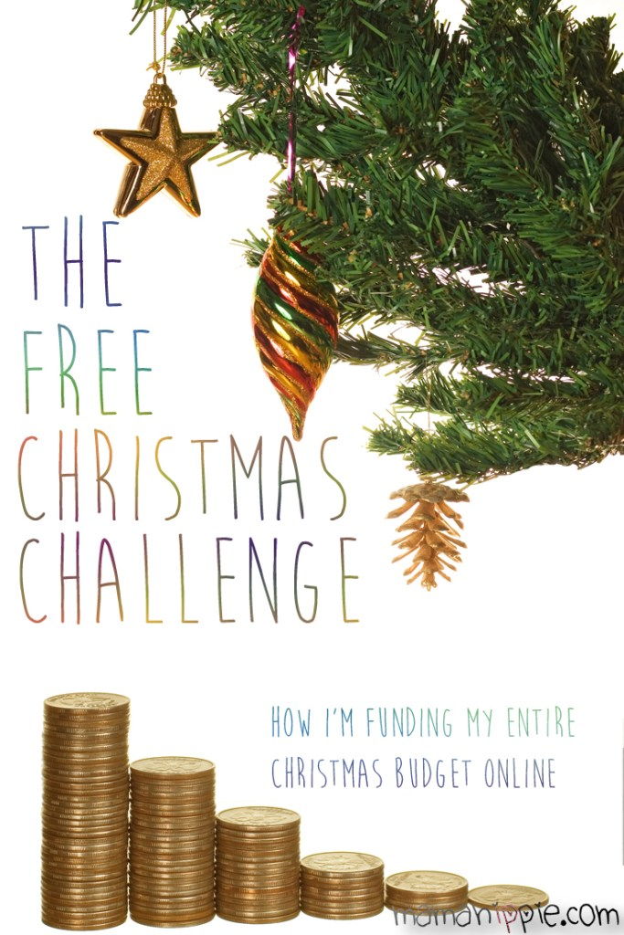 The free Christmas challenge. How I'm funding my entire Christmas budget (over $700) online with survey sites.
