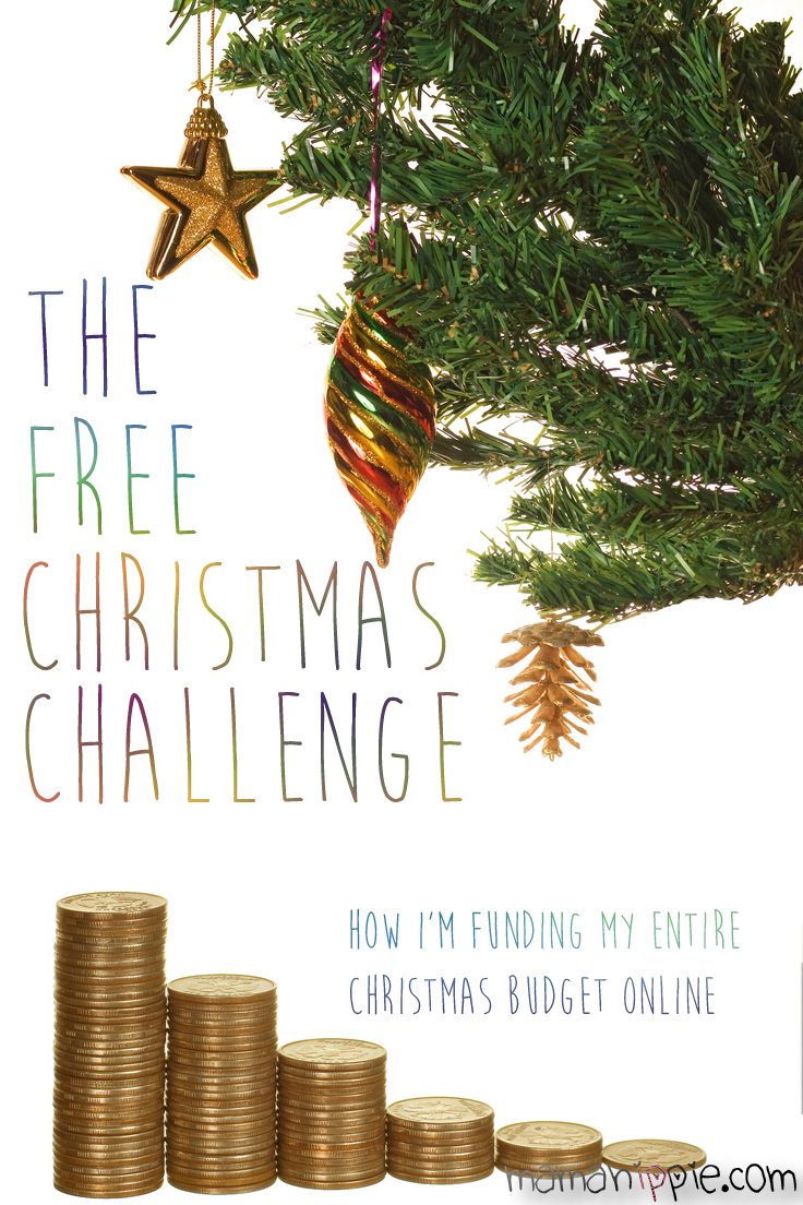 the free christmas challenge how im funding my entire christmas budget over