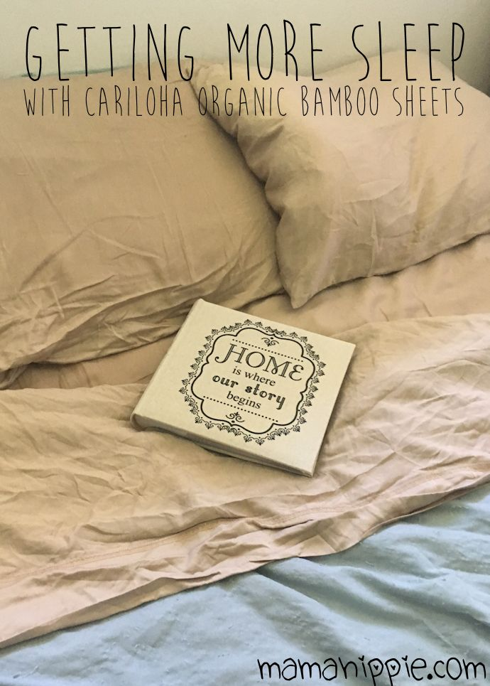Looking for organic toxin free bedding? Cariloha makes sheets, pillowcases and more from sustainable organic bamboo! Eco friendly. These are seriously the softest sheets we've ever owned!