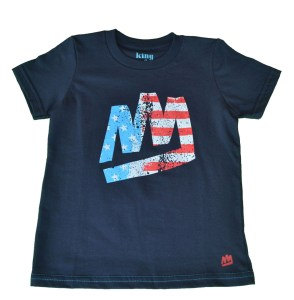 Buy American Made this Fourth of July wiith this festive shirt via American Adorn.