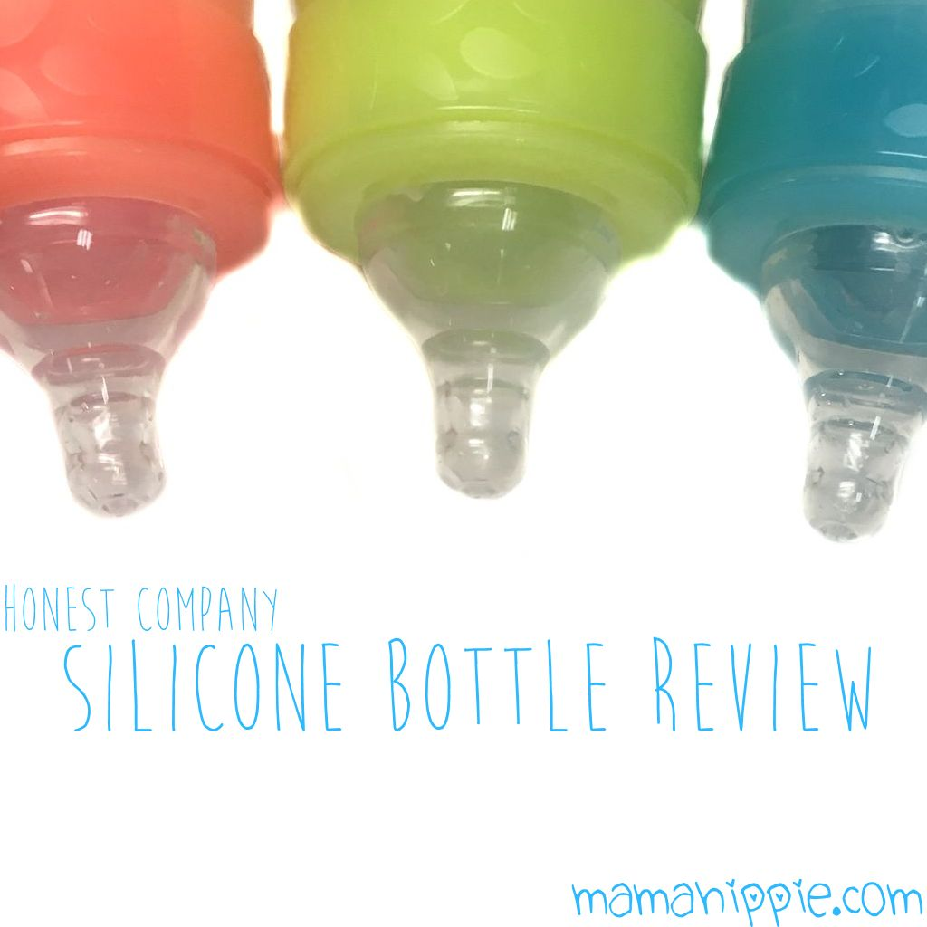 Honest Company Silicone Bottle Review