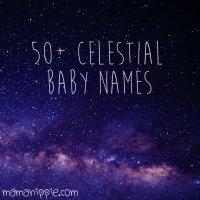 50+ Celestial Baby Names
