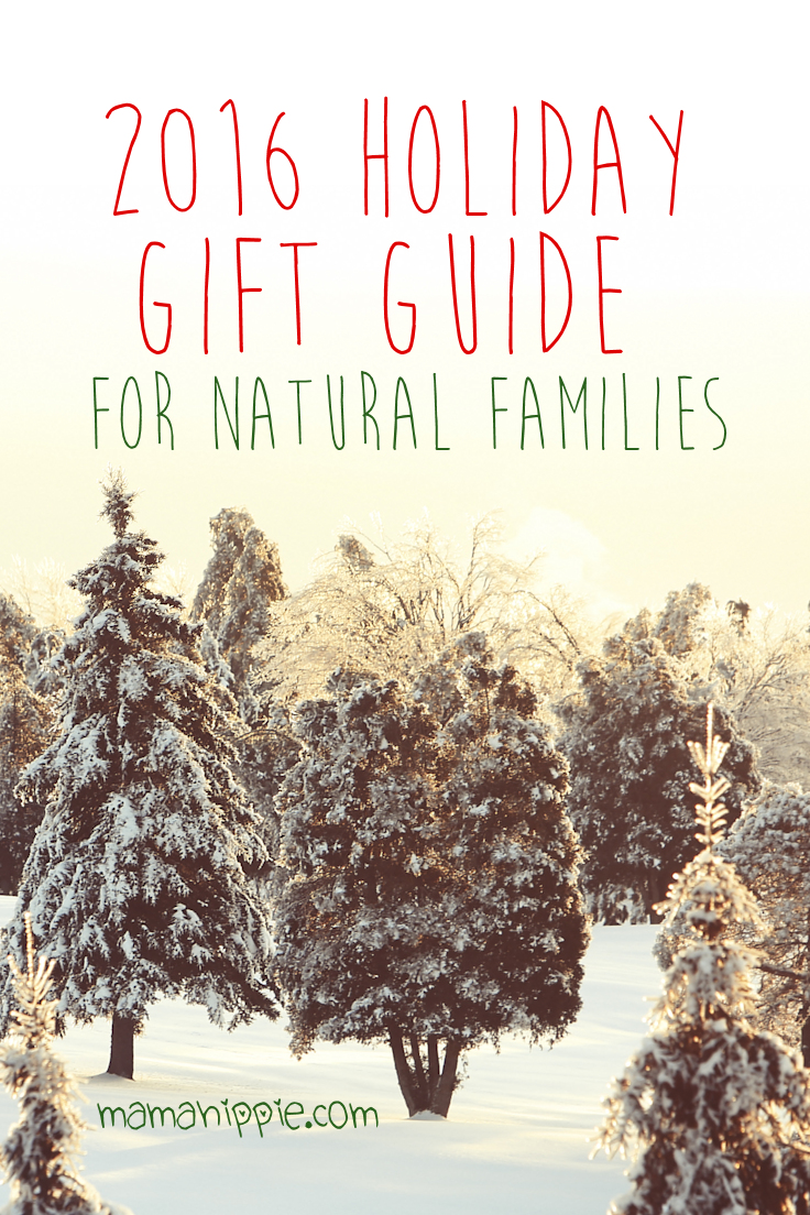 Holiday gift shopping is stressful especially if you don't know what to get as a gift! Mama Hippie's 2016 gift guide will help you pick out the perfect gift for the natural minded, crunchy family in your life. Including gifts from babies to adults, teenagers and even mamas-to-be your sure to find a great gift for the hippie in your life.