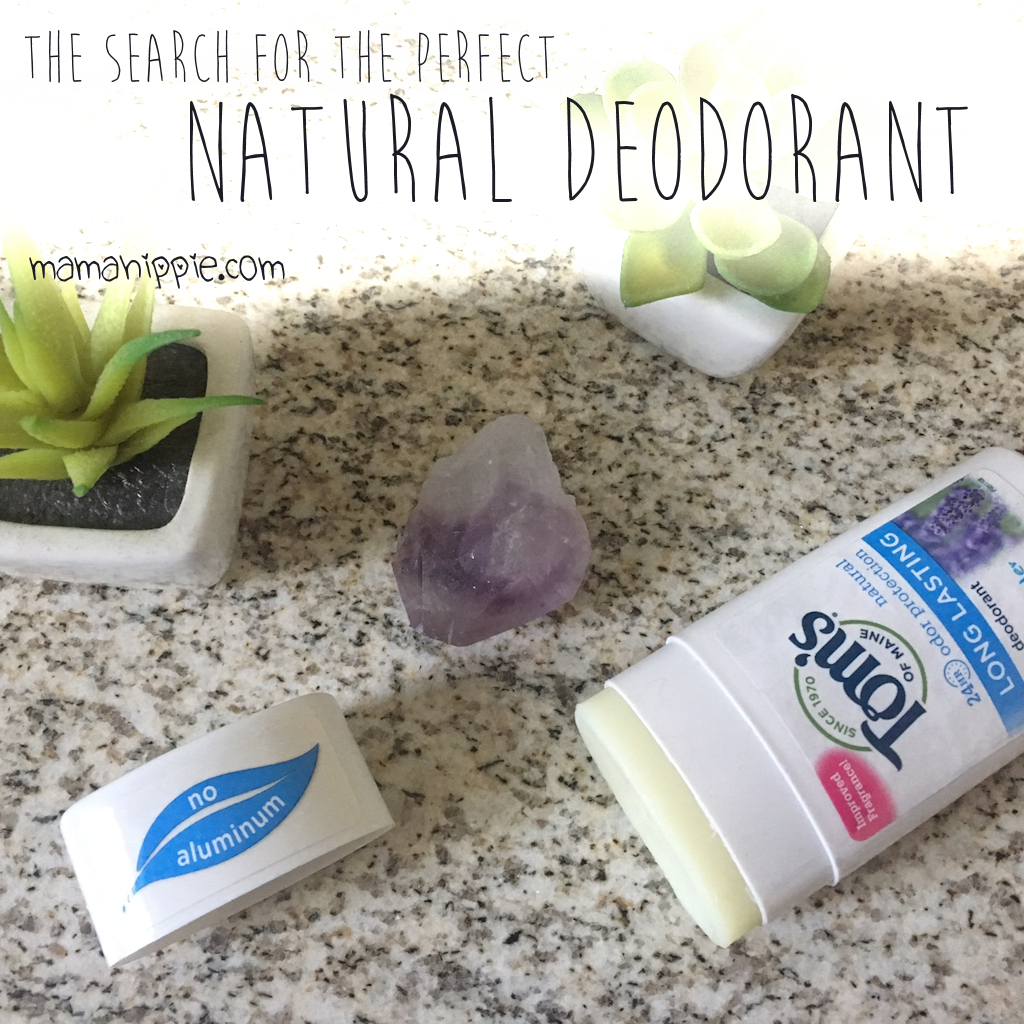The Search for The Perfect Natural Deodorant + A Giveaway (11/8/16-11/11/16)