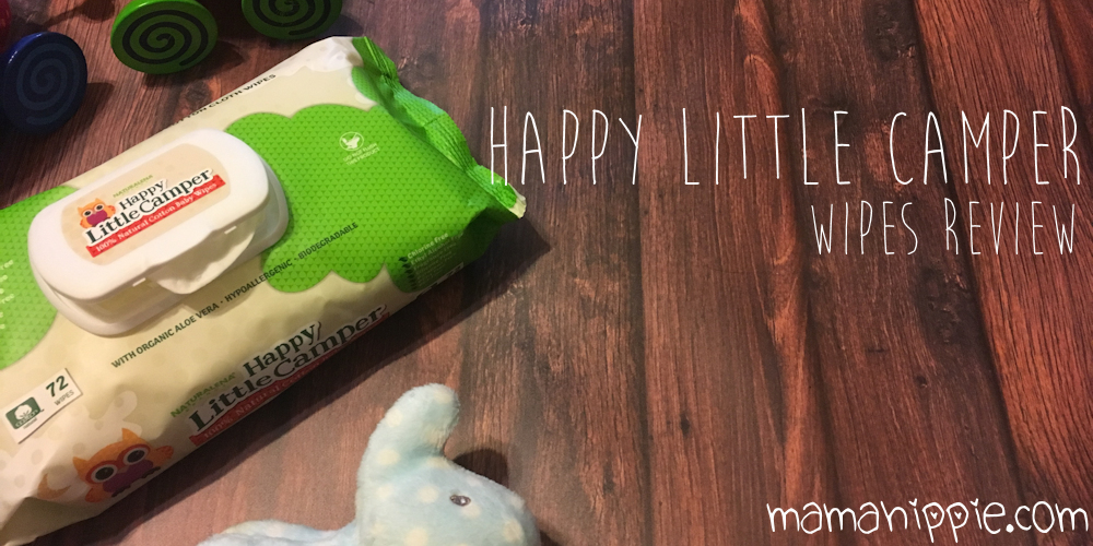 Happy Little Camper is made from 100% cotton, free from harmful chemicals and byproducts, and cruelty free. See the full review of  this natural baby wipe.
