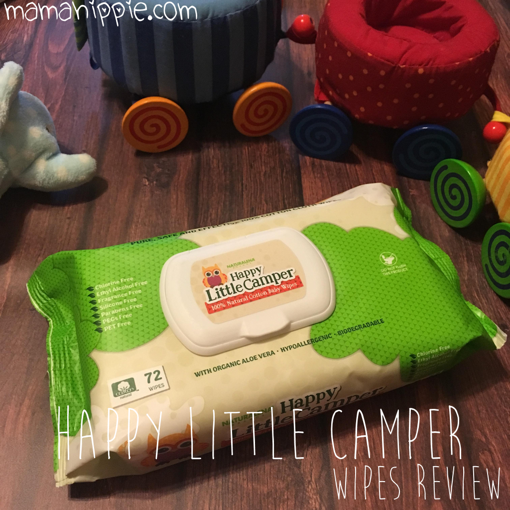 Happy Little Campers Wipes Review