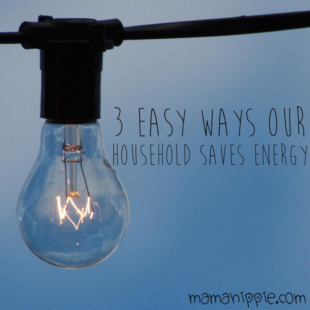 3 Easy Ways Our Household Saves Energy