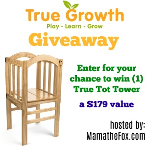 True Tot Tower Giveaway (6/23/17-7/7/17; USA Only)