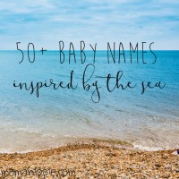 50+ Baby Names Inspired by the Sea