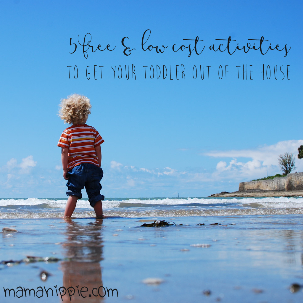 5 Free & Low Cost Activites to Get Your Toddler Out of the House