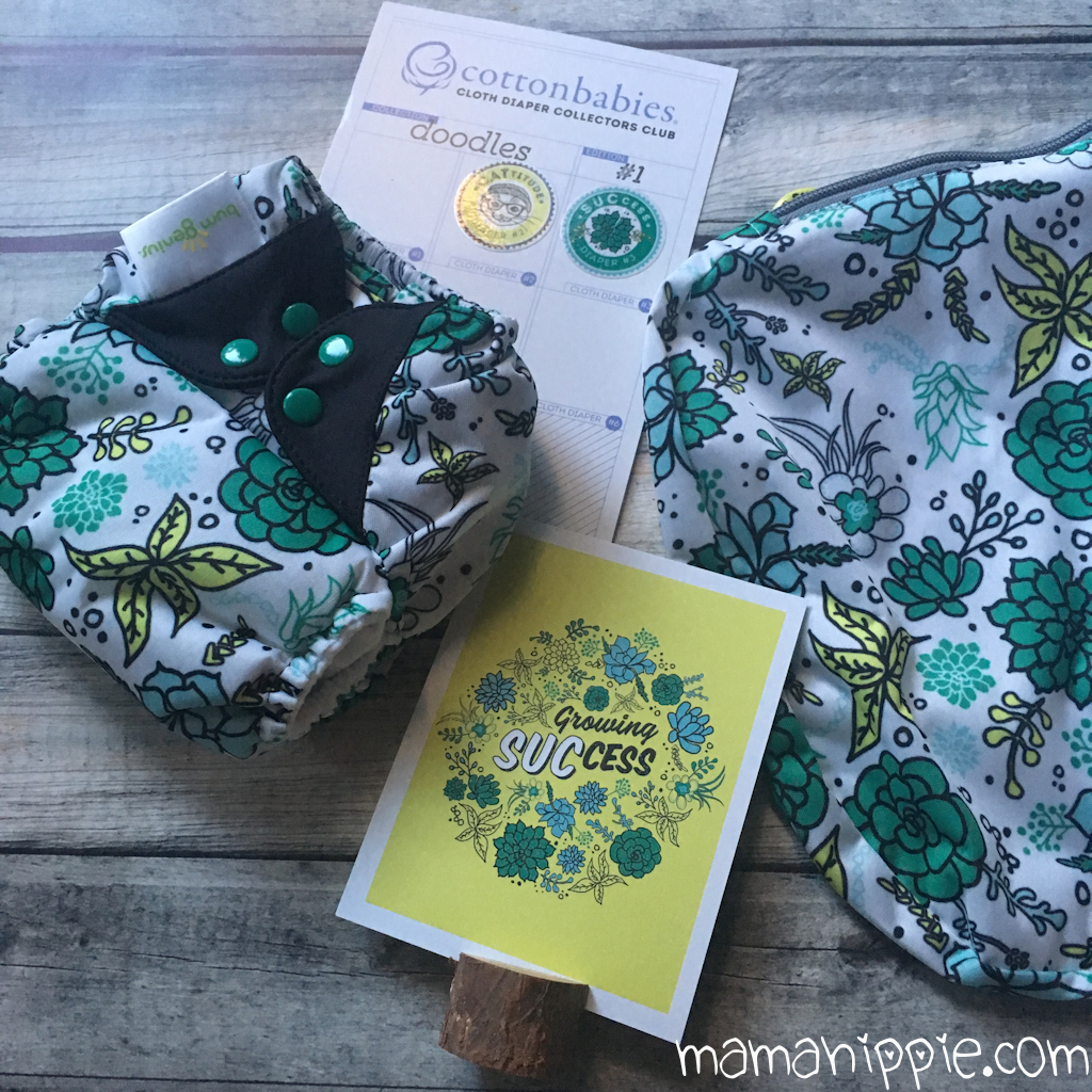 Cotton Babies Cloth Diaper Collector's Club – July 2017, SUCcess